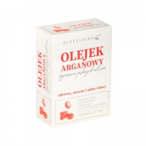 Bioelixire Argan Oil olejek arganowy z filtrem UV serum 20ml