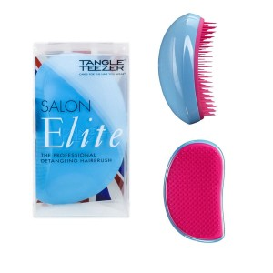 Tangle Teezer Salon Elite niebieska szczotka Blue Blush