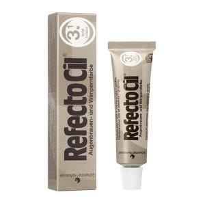 Refectocil Light Brown nr 3.1 żelowa henna do rzęs i brwi jasny brąz 15ml